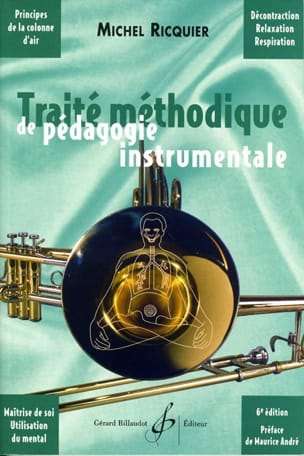 Michel Ricquier - Methodical treatise of instrumental pedagogy - Book - di-arezzo.co.uk