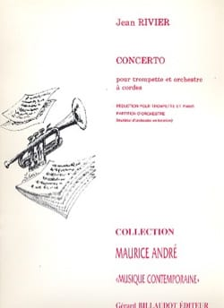 Jean Rivier - Concerto - Partition - di-arezzo.fr