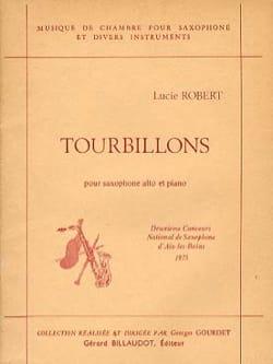 Lucie Robert - Tourbillons - Partition - di-arezzo.fr