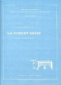 Bruno Rossignol - La Jument Grise - Partition - di-arezzo.fr