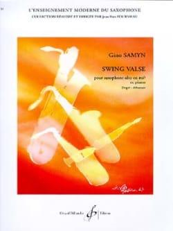 Gino Samyn - Swing Valse - Partition - di-arezzo.fr
