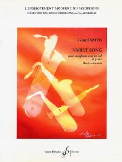 Gino Samyn - Variet Song - Partition - di-arezzo.fr