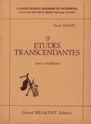 Noël Samyn - 9 Etudes Transcendantes - Partition - di-arezzo.fr