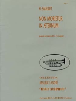 Henri Sauguet - No Morietur In Eaternum - Partition - di-arezzo.co.uk