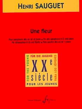 Henri Sauguet - A flower - Partition - di-arezzo.co.uk