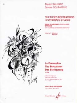 Sauvage Daniel / Soumagne Sylvain - 10 Studies recreation volume 1 - Sheet Music - di-arezzo.co.uk