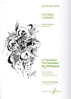 Daniel Sauvage - 12 Studies For Vibraphone - Sheet Music - di-arezzo.com