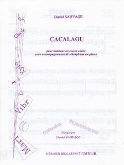 Daniel Sauvage - Cacalaou - Partition - di-arezzo.fr