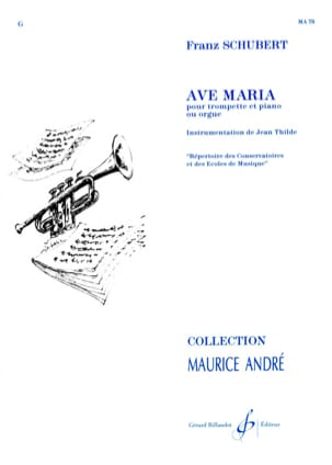 SCHUBERT - Ave Maria - Sheet Music - di-arezzo.com
