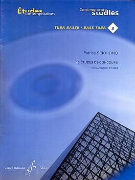 Patrice Sciortino - 15 Competition Studies - Sheet Music - di-arezzo.co.uk