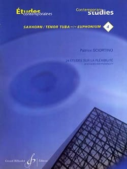 Patrice Sciortino - 24 Studies on Flexibility - Sheet Music - di-arezzo.co.uk
