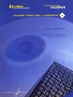 Patrice Sciortino - 24 estudios de flexibilidad - Partitura - di-arezzo.es