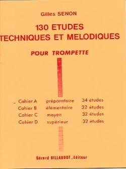 Gilles Senon - 130 Studies Volume A - 34 Studies - Sheet Music - di-arezzo.com