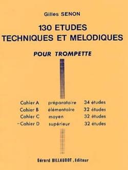 130 Etudes Volume D - 32 Etudes - Gilles Senon - laflutedepan.com
