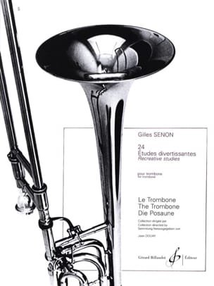 Gilles Senon - 24 Entertaining Studies - Sheet Music - di-arezzo.co.uk