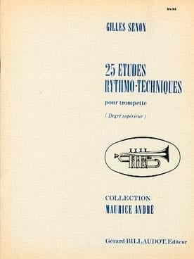 Gilles Senon - 25 Etudes Rythmo Techniques - Partition - di-arezzo.fr
