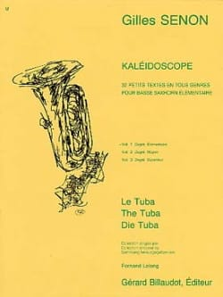 Gilles Senon - Volume del caleidoscopio 1 - Partitura - di-arezzo.it