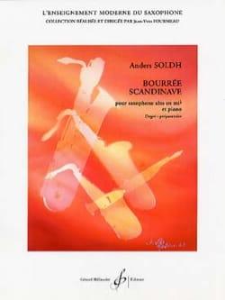Bourrée Scandinave Anders Soldh Partition Saxophone - laflutedepan