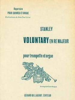 John Stanley - Voluntary In D Major - Partition - di-arezzo.com