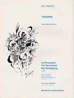 Eric Tanguy - Towards - Sheet Music - di-arezzo.co.uk