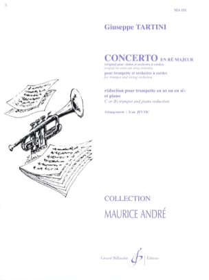 Giuseppe Tartini - Concerto In D Major - Sheet Music - di-arezzo.com