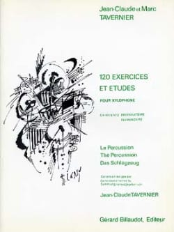 Jean-Claude Tavernier - 120 Exercises and Studies Volume 2 - Sheet Music - di-arezzo.com