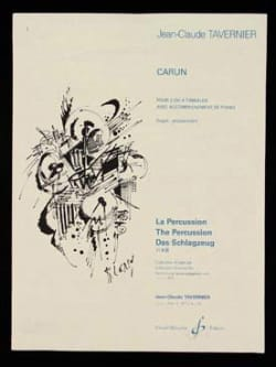 Jean-Claude Tavernier - Carun - Sheet Music - di-arezzo.co.uk