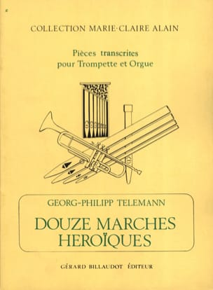 Georg Ph Telemann - 12 Marches Heroïques - Partition - di-arezzo.fr