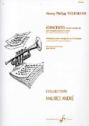 TELEMANN - Concerto In D Major - Sheet Music - di-arezzo.com