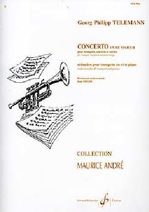 TELEMANN - Concerto In D Major - Sheet Music - di-arezzo.co.uk