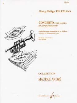TELEMANN - Concerto En Ré N ° 2 - Sheet Music - di-arezzo.co.uk