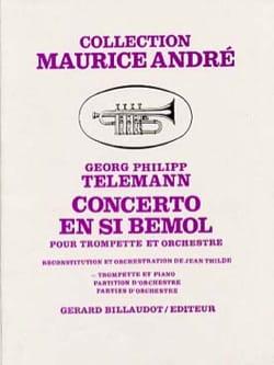 TELEMANN - Bb Concerto - Sheet Music - di-arezzo.co.uk