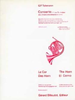 Concerto N° 1 En Fa Majeur - Georg Ph Telemann - laflutedepan.com