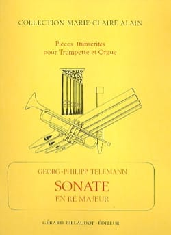 Georg Ph Telemann - Sonate En Ré Majeur - Partition - di-arezzo.fr