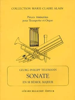 Georg Ph Telemann - Sonate En Sib Majeur - Partition - di-arezzo.fr