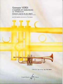 Cavatine Et Variations Sur Nabucco - VERDI - laflutedepan.com