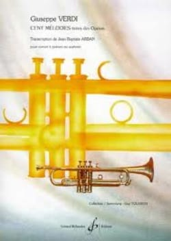 VERDI - One hundred melodies - Sheet Music - di-arezzo.com