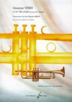 Guiseppe Verdi - Cent Mélodies - Partition - di-arezzo.fr