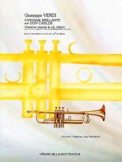 Guiseppe Verdi - Fantaisie brillante sur Don Carlos - Partition - di-arezzo.fr