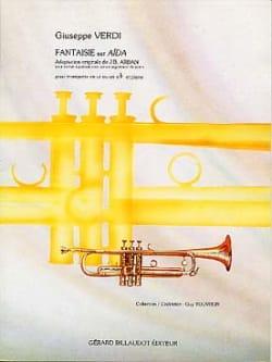 Guiseppe Verdi - Fantaisie Sur Aïda - Partition - di-arezzo.fr