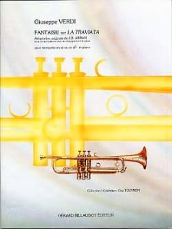 Fantaisie Sur la Traviata VERDI Partition Trompette - laflutedepan