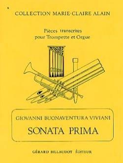 Sonata Prima Giovanni Bonaventura Viviani Partition laflutedepan