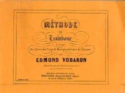 Méthode De Trombone Edmond Vobaron Partition Trombone - laflutedepan