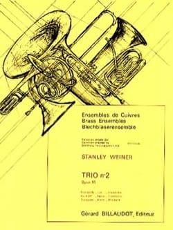 Stanley Weiner - Trio N° 2 Opus 85 - Partition - di-arezzo.fr