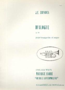 Dialogue Julien-François Zbinden Partition Trompette - laflutedepan