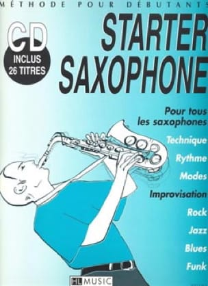Frédéric Truet - Saxophone Starter - Sheet Music - di-arezzo.co.uk