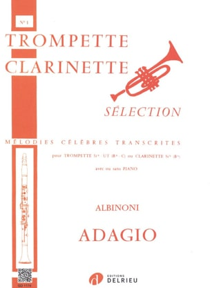 Tomaso Albinoni - Adagio - Sheet Music - di-arezzo.co.uk