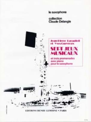 Baraglioli / Queyroux - 7 Jeux Musicaux et Trois Promenades - Partition - di-arezzo.fr