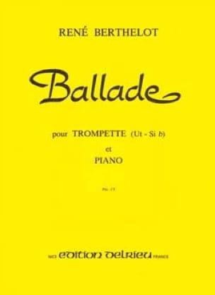 René Berthelot - Ballad - Sheet Music - di-arezzo.co.uk