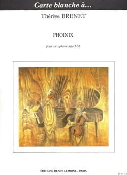 Thérèse Brenet - Phoinix - Sheet Music - di-arezzo.co.uk